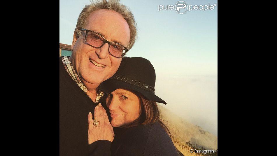 Tina Simpson et son fiancé sur Instagram, le 3 juin 2015
