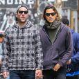 Exclusif - Zachary Quinto se promène avec son petit ami Miles McMillan dans les rues de New York, le 4 juin 2015
