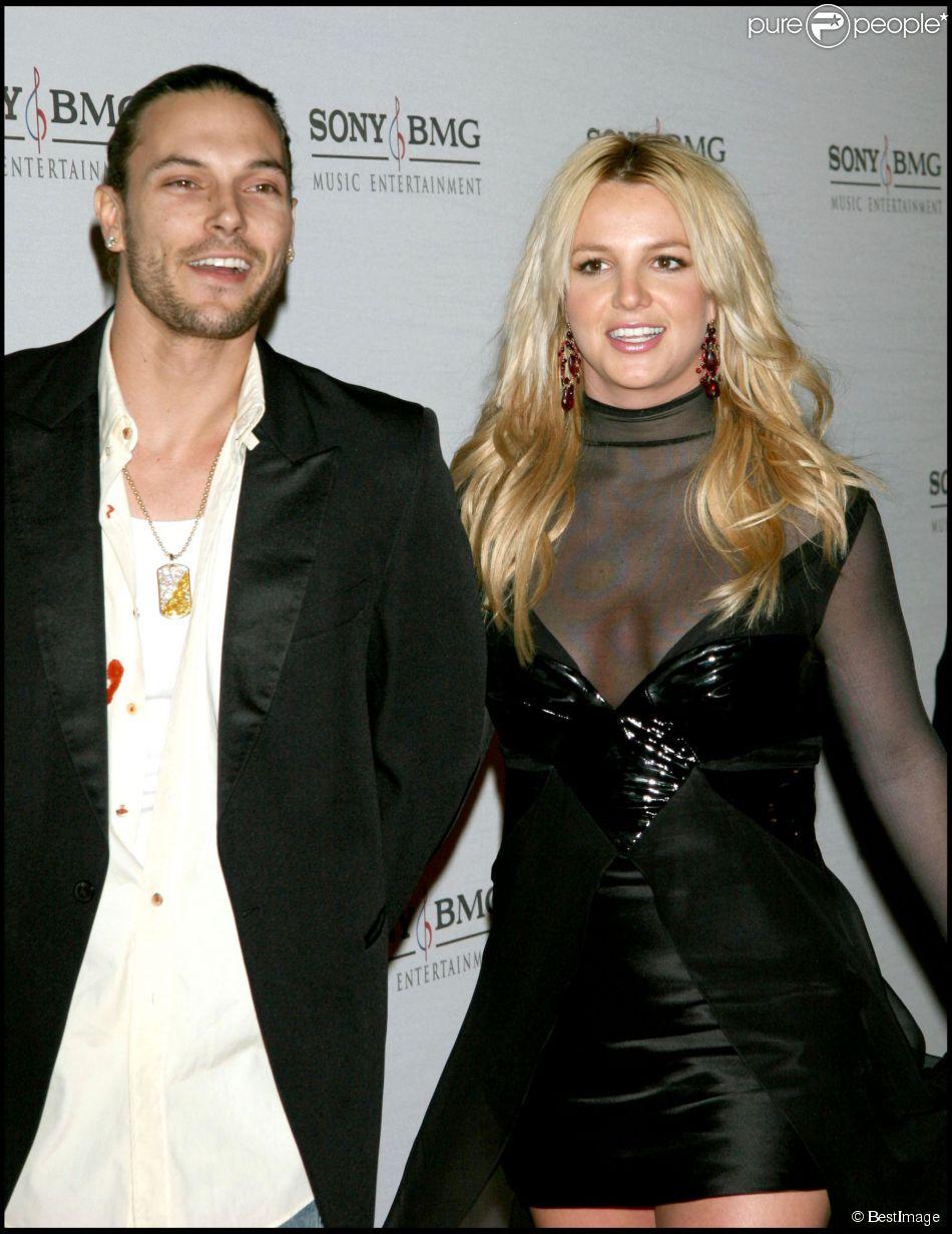 Britney Spears et Kevin Federline, à Hollywood, le 8 février 2006.