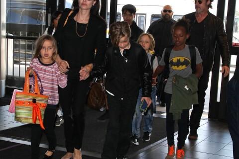 Angelina Jolie, Brad Pitt et leurs six enfants en vacances : Direction Miraval !