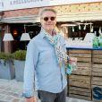 """Le critique culinaire Sébastien Demorand (Masterchef) - Soirée """"Grand Fooding S. Pellegrino"""" au marché Paul Bert Serpette à Saint-Ouen, le 6 juin 2015."""