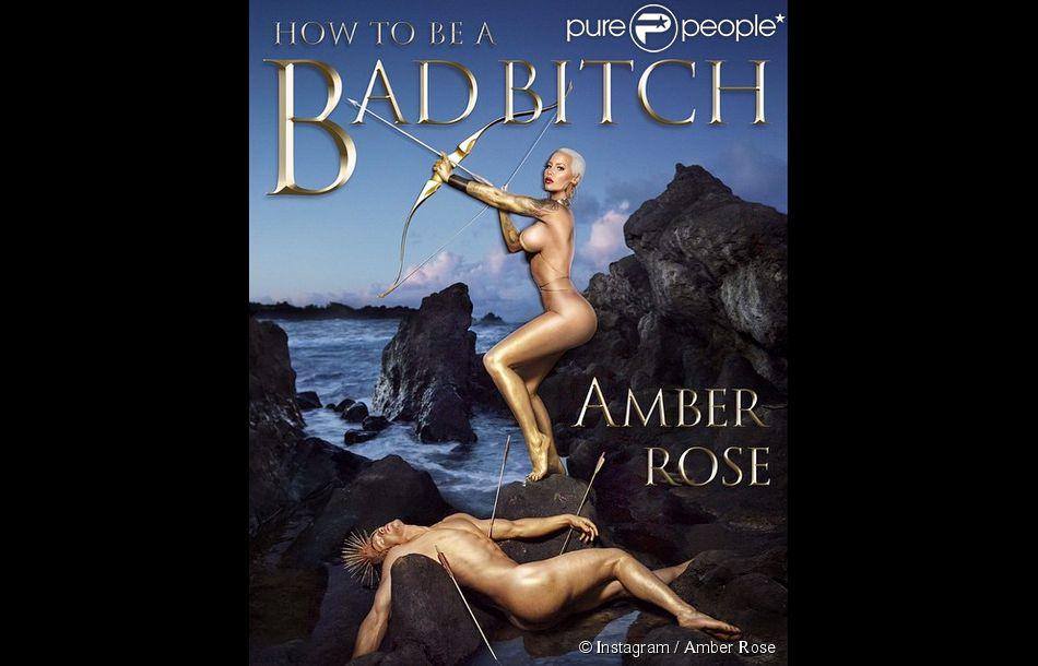 """""""How to be a bad bitch"""", titre du livre d'Amber Rose, paraîtra le 27 octobre 2015."""