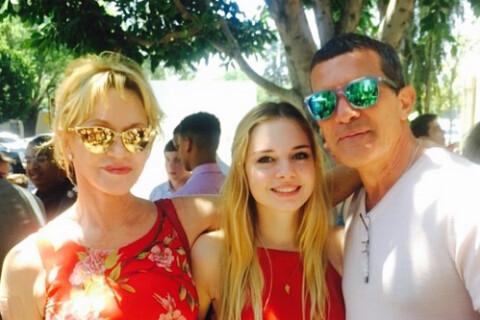 Melanie Griffith et Antonio Banderas: Séparés mais réunis pour leur fille Stella