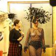 Lady Gaga après son concert avec Tony Bennett au Royal Albert Hall le 8 juin 2015 à Londres, au profit de WellChild et en présence du prince Harry, parrain de l'association.