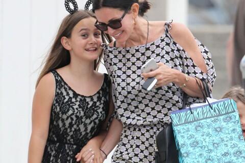 Courteney Cox : Maman complice avec Coco... et son ex-mari David Arquette