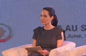 Angelina Jolie : En Afrique du Sud, la battante continue son combat
