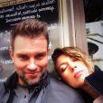 Natalie Zea et son mari Travis Schudlt à Paris, sur Instagram en mai 2015