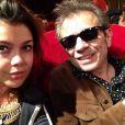 Manon et Philippe Manoeuvre - photo publiée sur son compte Instagram le 15 juin 2014