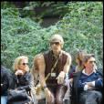 Sacha Baron Cohen en cuir...