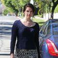 Exclusif - Lana Del Rey se balade dans les rues de Los Angeles, le 23 janvier 2015