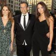 "Kenneth Cole et ses filles - Gala ""AmfAR Inspiration Gala"" à New York, le 16 juin 2015"