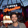 Adrian Grenier - Soirée d'inauguration du Cinéma Paradiso au Grand Palais à Paris le 16 juin 2015.