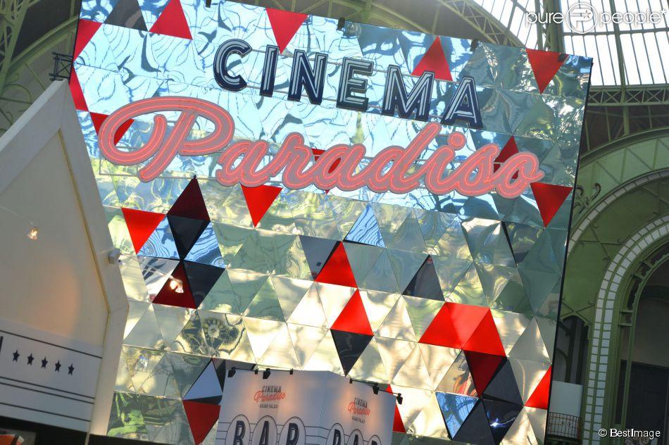 Soirée d'inauguration du Cinéma Paradiso au Grand Palais à Paris le 16 juin 2015.