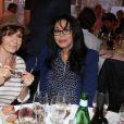 Exclusif - Danièle Evenou, Yamina Benguigui - 5ème édition de la fête de la charcuterie au chateau d'Asnières le 15 juin 2015.