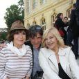 Exclusif - Danièle Evenou, Tex, Nicoletta - 5ème édition de la fête de la charcuterie au chateau d'Asnières le 15 juin 2015.