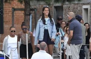 Michelle Obama : Sa fille Malia de plus en plus jolie à ses côtés en Italie