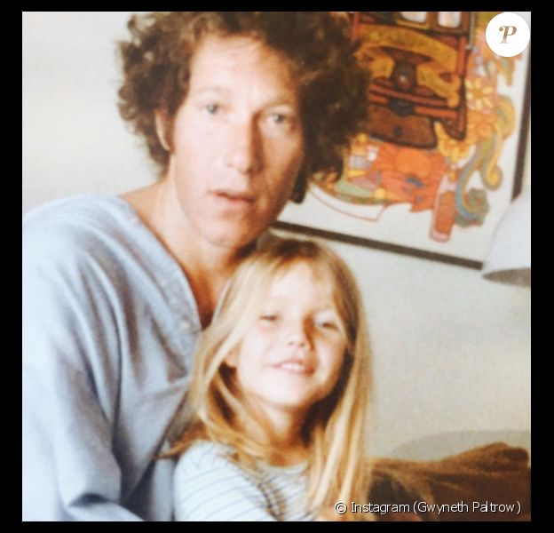 Gwyneth Paltrow rend hommage à pour la fête des pères. (photo postée le 21 juin 2015)