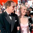 Bruce Paltrow et sa fille Gwyneth lors des Oscars 1999.
