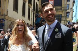 Fernando Llorente marié : La star de la Juventus a dit oui à sa belle Maria
