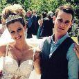 Mariage d'Axel Witsel et Rafaella Szabo à Creppe le 14 juin 2015.