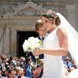 Mariage d'Ivan Rakitic et Raquel Mauri à Séville le 20 juin 2015.