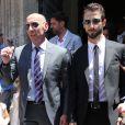 Monchi au mariage d'Ivan Rakitic à Séville le 20 juin 2015.