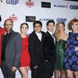 Molly Tarlov et les autres membres du casting à la premiere de G.B.F. à Los Angeles, le 19 novembre 2013