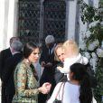 Andrea Casiraghi - Mariage de Noor Farès et Alexandre Khawam en l'église Sainte-Catherine de Honfleur, le 13 juin 2015.
