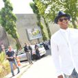 Russell Westbrook défilé de mode masculine Dior printemps-été 2016 au Tennis Club de Paris le 27 juin 2015.