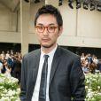 Matsuda Ryuhei - Défilé Dior Homme printemps-été 2016 au Tennis Club de Paris le 27 juin 2015.