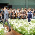 Défilé Dior Homme printemps-été 2016 au Tennis Club de Paris le 27 juin 2015.