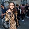 Sky Ferreira - Arrivée des people au défilé Saint Laurent Homme collection Printemps-Eté 2016 au Carreau du Temple lors de la Fashion Week à Paris, le 28 juin 2015.