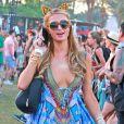 """Paris Hilton  au 5e jour du Festival de """"Coachella Valley Music and Arts"""" à Indio Le 18 avril 2015"""