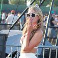 """Paris Hilton au 1er jour du Festival """"Coachella Valley Music and Arts"""" à Indio le 10 avril 2015."""