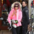Paris Hilton fait du ski à Aspen, le 22 décembre 2014.