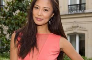 Xin Wang : La belle Chinoise enivre une soirée parisienne