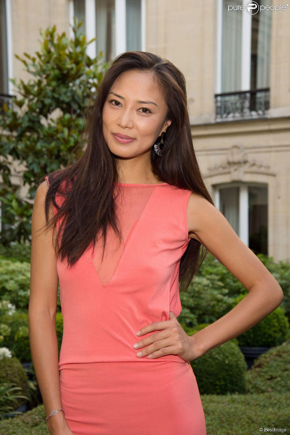 """L'actrice Xin Wang - Cocktail pour le film """"Monica's List """" à l'hôtel Barrière Fouquet's à Paris, France le 29 juin 2015."""