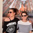 Exclusif - Charlotte Casiraghi et Marion Cotillard - Photocall lors de la soirée du Grand Prix Longines Global Champions Tour lors du Longines Paris Eiffel Jumping au Champ-de-Mars à Paris, le 4 juillet 2015.