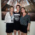 Exclusif - Virginie Coupérie-Eiffel, Charlotte Casiraghi et Coco Coupérie-Eiffel - Photocall lors de la soirée du Grand Prix Longines Global Champions Tour lors du Longines Paris Eiffel Jumping au Champ-de-Mars à Paris, le 4 juillet 2015.