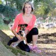 Claire, agricultrice célibataire dans  L'amour est dans le pré 2015 , sur M6.