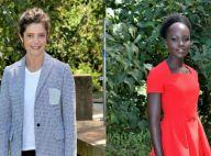 Fashion Week : Chiara Mastroianni et Lupita Nyong'o, radieuses au défilé Dior