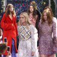 """Défilé de mode """"Christian Dior"""", collection Haute Couture automne-hiver 2015-2016 au Musée Rodin à Paris, le 6 juillet 2015."""