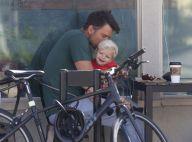 Josh Duhamel papa-poule sportif : Pause tendresse avec l'adorable Axl
