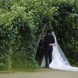 Nicky Hilton et James Rothschild se marient à l'Orangerie dans les jardins de Kensington Palace, le 10 juillet 2015 à Londres.