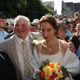 Exclusif - Thierry Olive et Annie se mariaient, à Gavray, en septembre 2012