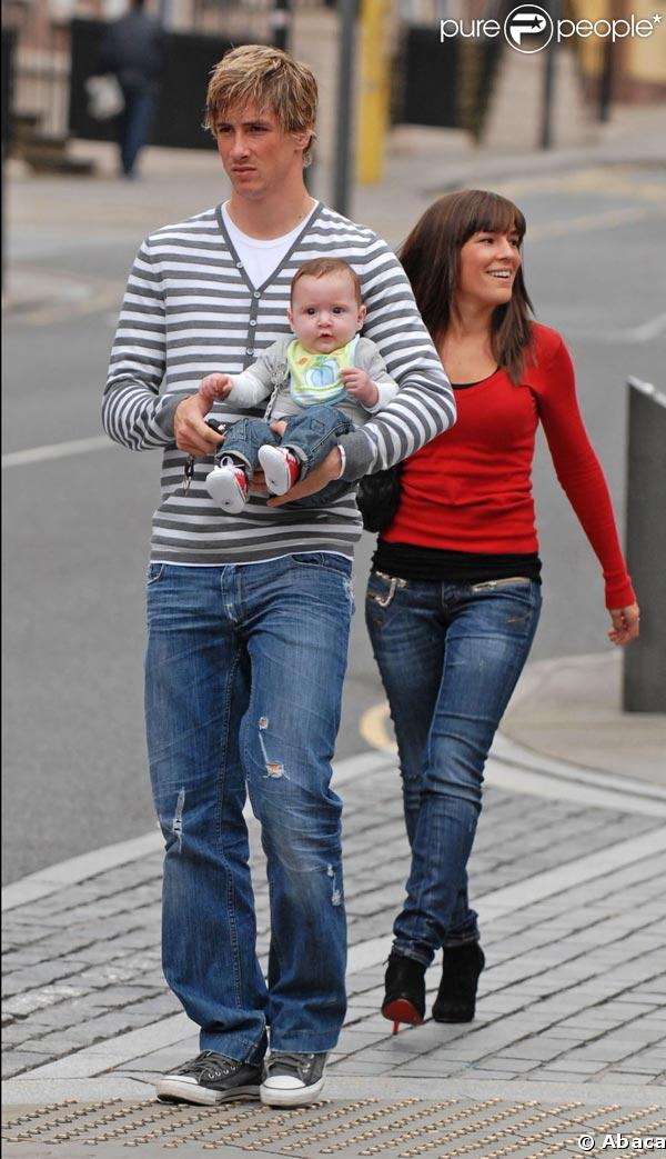 Fernando Torres, sa compagne Olalla, et... un bébé