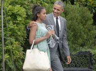 Barack Obama : Le président s'offre une pause avec ses filles Sasha et Malia