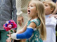 Princesse Mary : Plâtrée et déchaînée, Josephine, 4 ans, anime un défilé !