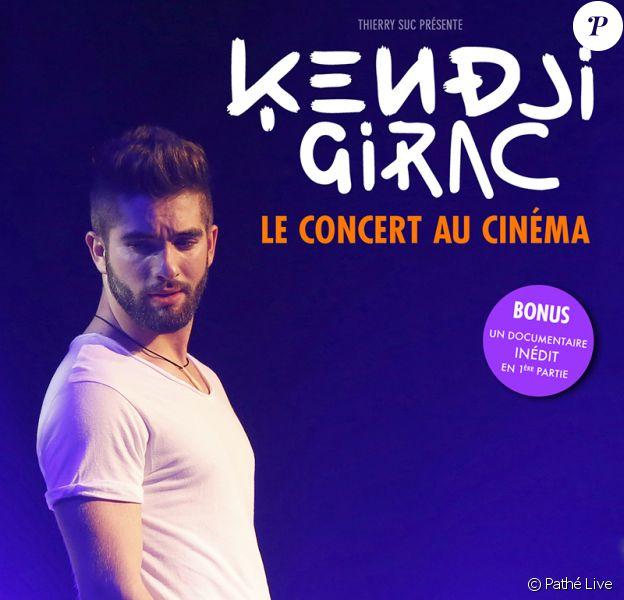 Le concert de Kendji Girac diffusé en exclusivité dans 209 salles en France, en Suisse et en Belgique, le 17 septembre 2015 à 20h00.