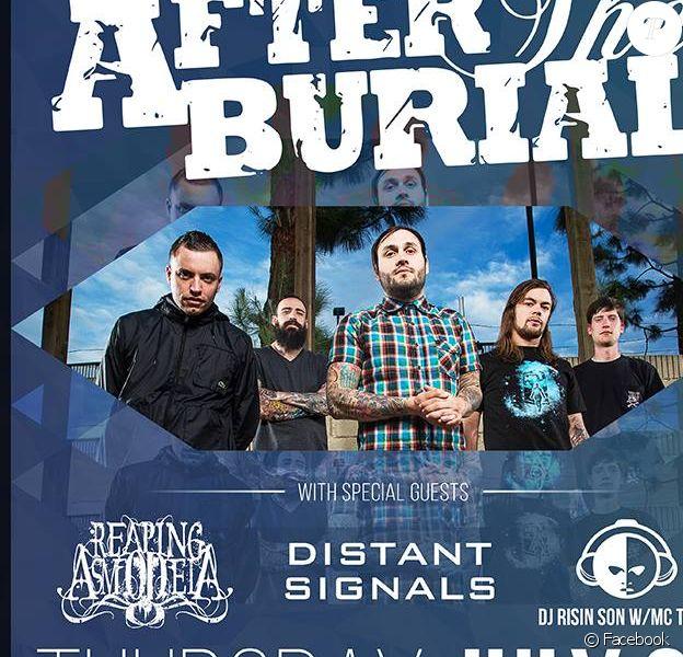 Le groupe metalcore After The Burial. Leur guitariste Justin Lowe a été retrouvé mort à 32 ans le 21 juillet 2015.